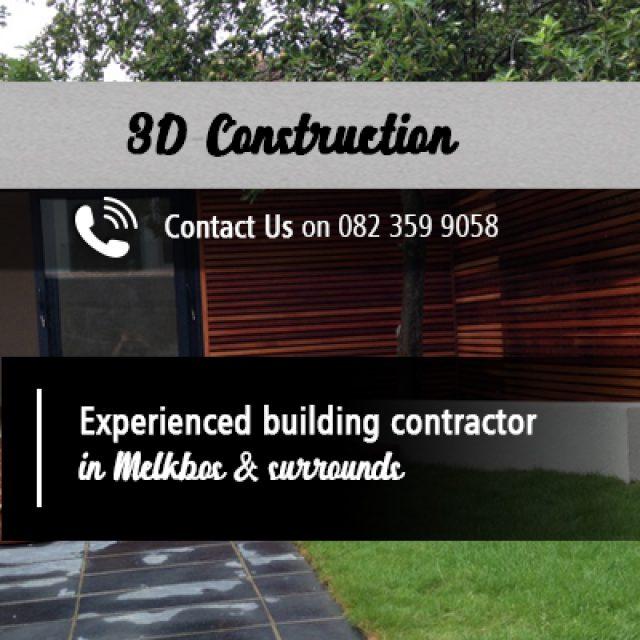 3D Construction