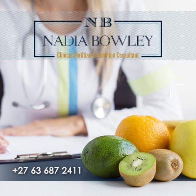 Nadia Bowley Clinical Dietitian & Nutrition Consultant